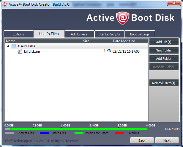 active killdisk faq boot disk issues
