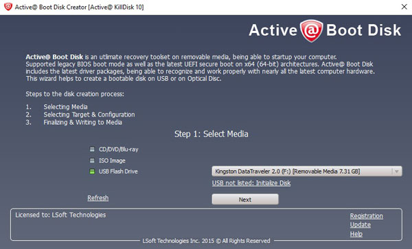 How to delete multiple drives with Active@ KillDisk?