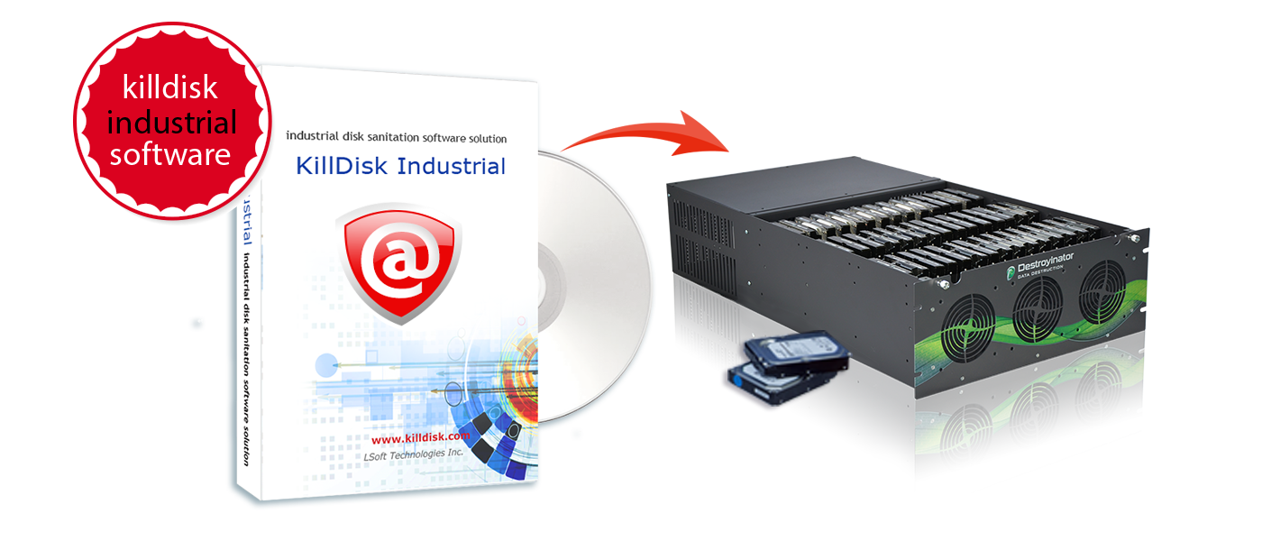 How to erase hard drive by Active@ KillDisk? Disk Eraser