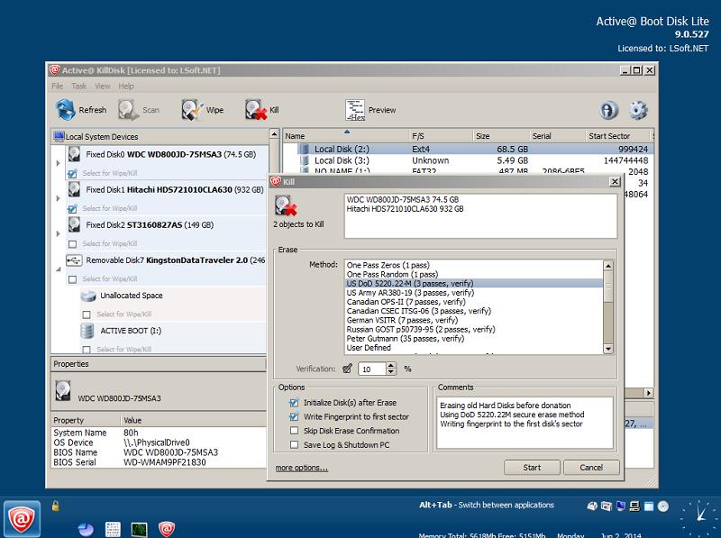 lsoft active killdisk 5.0